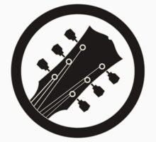 Guitar sign black Baby Tee