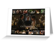 Outlander wedding collage Greeting Card