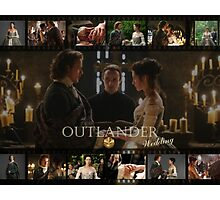 Outlander wedding collage Photographic Print