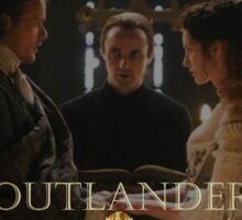 Outlander wedding collage Sticker
