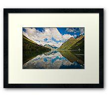 Lake Gunn Reflections Framed Print