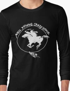 Neil Young Crazy Horse Long Sleeve T-Shirt