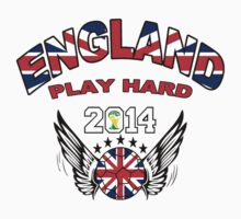 Brazil World Cup 2014: England Play Hard by seazerka