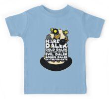 Hard Dalek Cold Dalek New Design Kids Tee