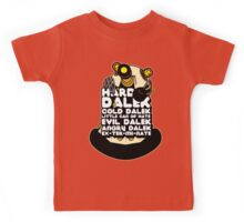 Hard Dalek Cold Dalek New Design Kids Tee