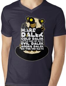 Hard Dalek Cold Dalek New Design Mens V-Neck T-Shirt