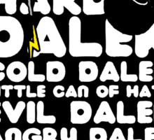 Hard Dalek Cold Dalek New Design Sticker