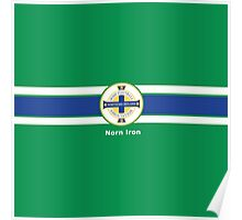 Northern Ireland National Football Team - Norn Iron Poster