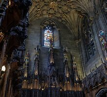 The Thistle Chapel in St Giles Cathedral, Edinburgh by Miles Gray
