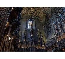 The Thistle Chapel in St Giles Cathedral, Edinburgh Photographic Print