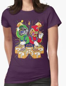 Super Punk Bros Womens Fitted T-Shirt