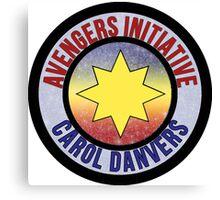 Carol Danvers Avenger Canvas Print