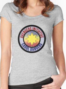 Carol Danvers Avenger Women's Fitted Scoop T-Shirt