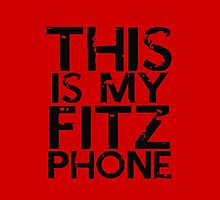 fitz phone iphone by thealexsimms