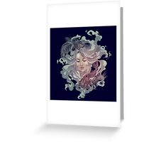 Alchemy-Water Greeting Card