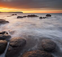 Pebble Beach Sunrise by Nick Skinner
