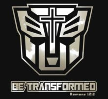 Be Transformed (Gold) by SpaceDonutInc