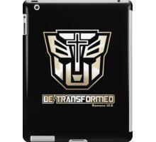 Be Transformed (Gold) iPad Case/Skin