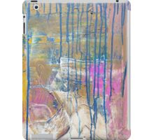 Blue Pink Yellow abstract iPad Case/Skin