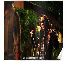 Rumplestiltskin All Magic Comes With A Price Poster