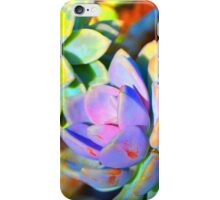 Succulent Color - Botanical Art By Sharon Cummings iPhone Case/Skin