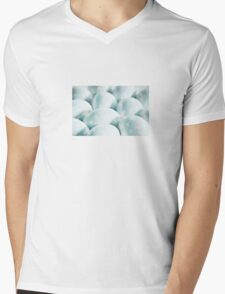 Happy Easter: Turquoise Hearts Mens V-Neck T-Shirt
