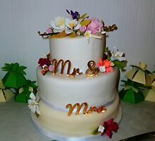 The Wedding Cake by Vicki Spindler (VHS Photography)