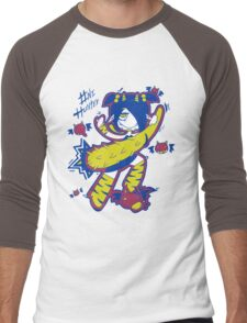 Oni Hunter by Lolita Tequila Men's Baseball ¾ T-Shirt