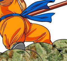 Kush Kid Goku Sticker