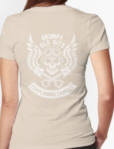 Grumpy Old Gits Complaining Chapter Womens Fitted T-Shirt