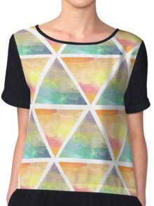 Hot N Cold Watercolours Chiffon Top