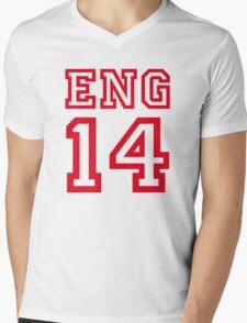 ENGLAND 2014 Mens V-Neck T-Shirt