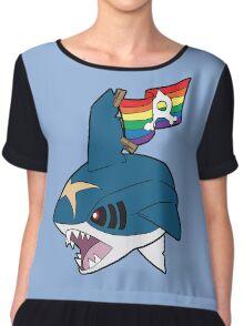 Team Queer Sharks Chiffon Top