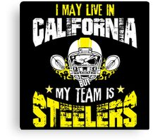 Football Fan Gift | Steelers Canvas Print