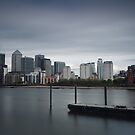 Canary Wharf by Ursula Rodgers