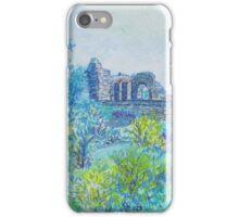 Halton Castle From St. Mary's Church iPhone Case/Skin