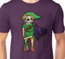 The Legend Of Zelda Meta Knight's Mask. Link's too powerful! (UNOFFICIAL) Unisex T-Shirt