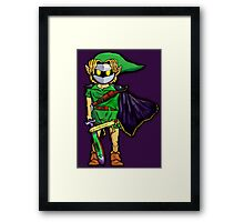 The Legend Of Zelda Meta Knight's Mask. Link's too powerful! Framed Print