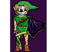 The Legend Of Zelda Meta Knight's Mask. Link's too powerful! (UNOFFICIAL) Photographic Print