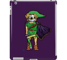 The Legend Of Zelda Meta Knight's Mask. Link's too powerful! iPad Case/Skin