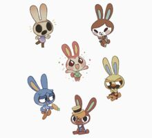 Animal Crossing - Bunny Set 1 by JimHiro