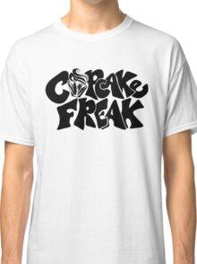 Cupcake Freak : black letters Classic T-Shirt