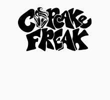 Cupcake Freak : black letters Women's Fitted Scoop T-Shirt