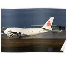 Cargolux 747 Poster