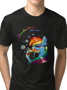 Rainbow - Stache 20% Cooler Tri-blend T-Shirt