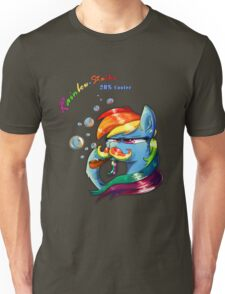Rainbow - Stache 20% Cooler Unisex T-Shirt