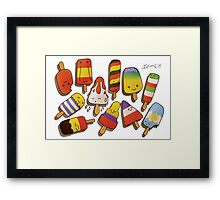 WORLD CUP 2014 LOLLIES Framed Print