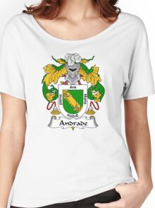 Andrade Coat of Arms/ Andrade Family Crest Women's Relaxed Fit T-Shirt