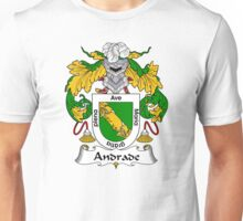 Andrade Coat of Arms/ Andrade Family Crest Unisex T-Shirt