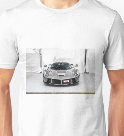 Ferrari LaFerrari in Grey Unisex T-Shirt